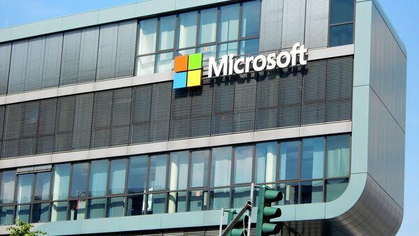 Офіс кампаніі Microsoft - Sputnik Беларусь