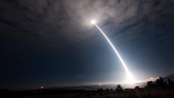 Запуск ракеты Minuteman III в 2017 году - Sputnik Беларусь