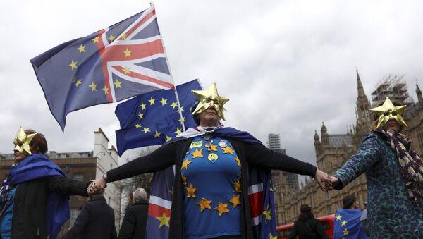 Демонстрация в Лондоне - Sputnik Беларусь