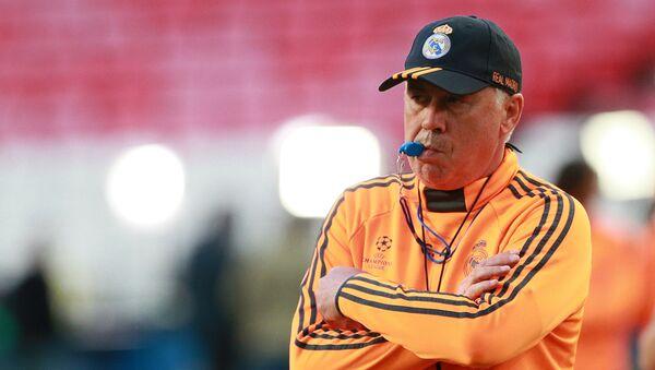 Карло Анчелотти на тренировке перед матчем финала Лиги Чемпионов УЕФА - Sputnik Беларусь