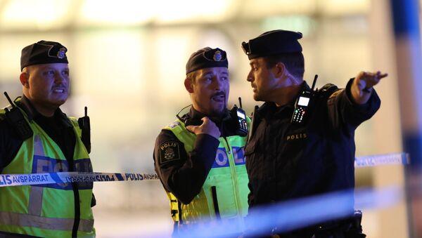 Полиция Швеции, архивное фото - Sputnik Беларусь