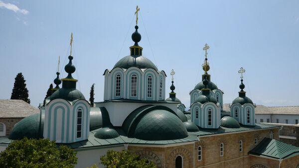 Русский Свято-Пантелеимонов монастырь - Sputnik Беларусь