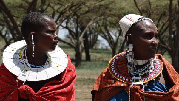 Племя масаи в Кении - Sputnik Беларусь