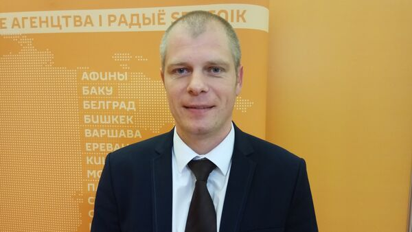Дырэктар прадпрыемства БелПСХАГІ Алег Баліцкі - Sputnik Беларусь