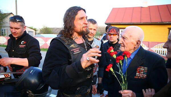 Ночные волки нашли ветерана, прошедшего всю войну на мотоцикле - Sputnik Беларусь