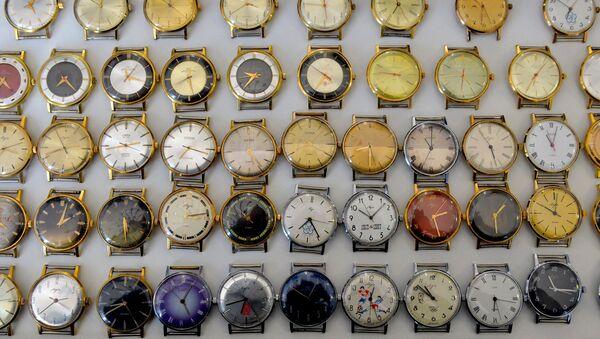 Рарытэтныя мадэлі гадзіннікаў, выпушчаныя ў часы СССР - Sputnik Беларусь