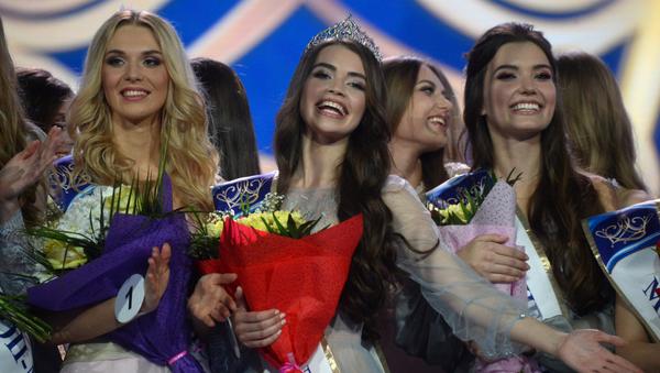 В столичном Дворце спорта прошел финал Национального конкурса красоты Мисс Беларусь – 2018 - Sputnik Беларусь