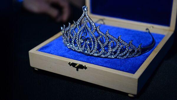 Корона победительницы конкурса Мисс Беларусь - Sputnik Беларусь