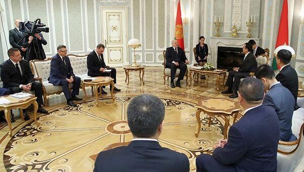 Встреча Александра Лукашенко с руководством китайской корпорации СИТИК Групп - Sputnik Беларусь