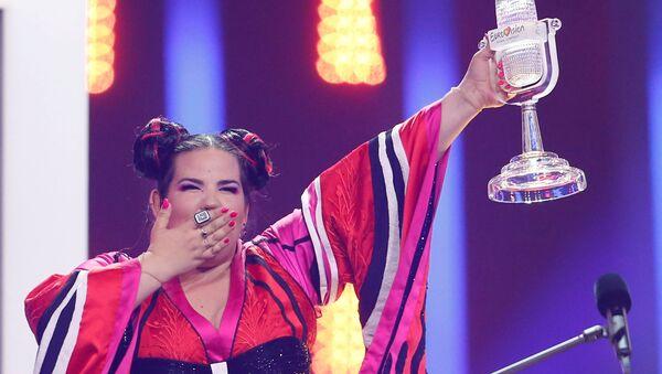 Певица Нетта Барзилай (Израиль), победившая в финале международного конкурса Евровидение-2018 - Sputnik Беларусь