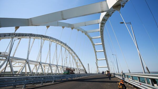 Строительство Крымского моста - Sputnik Беларусь