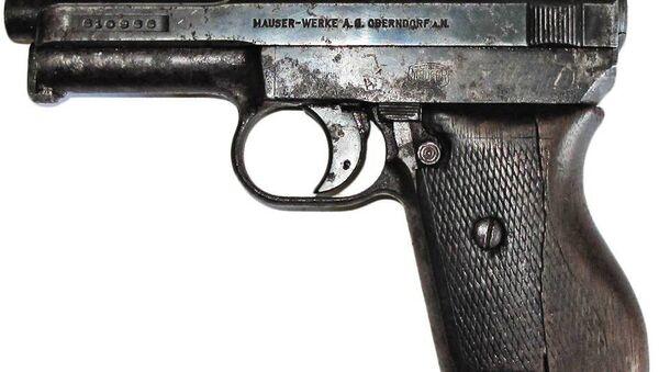 Обнаруженный пистолет - Sputnik Беларусь