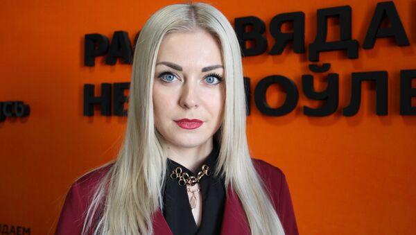 Пресс-секретарь ГУВД Мингорисполкома Наталья Ганусевич - Sputnik Беларусь