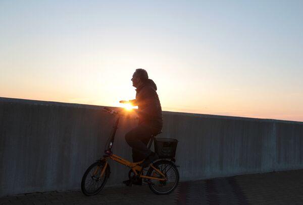 Закат в Адлере. - Sputnik Беларусь