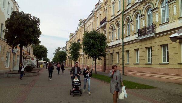 Пешеходная улица Ленинская - Sputnik Беларусь