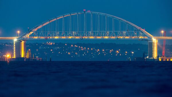 Крымский мост через Керченский пролив - Sputnik Беларусь
