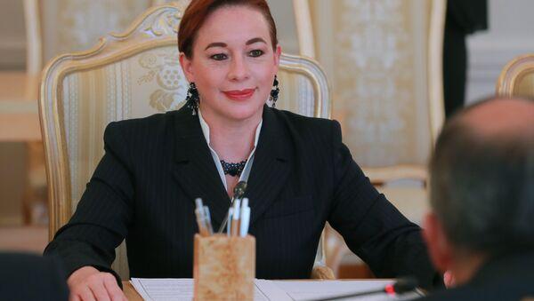 Министр иностранных дел Эквадора Мария Фернанда Эспиноса - Sputnik Беларусь