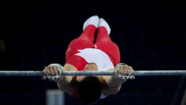 Гімнаст на перакладзіне, архіўнае фота - Sputnik Беларусь