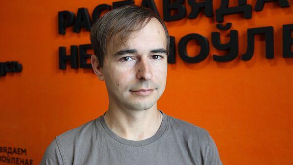 Директор клуба военного лазертага Полигон Б-7 Андрей Ковалев - Sputnik Беларусь