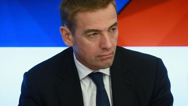 Cтатс-секретарь, заместитель министра промышленности и торговли РФ Виктор Евтухов - Sputnik Беларусь