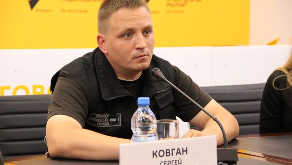 Руководитель ПСО Ангел Сергей Ковган - Sputnik Беларусь