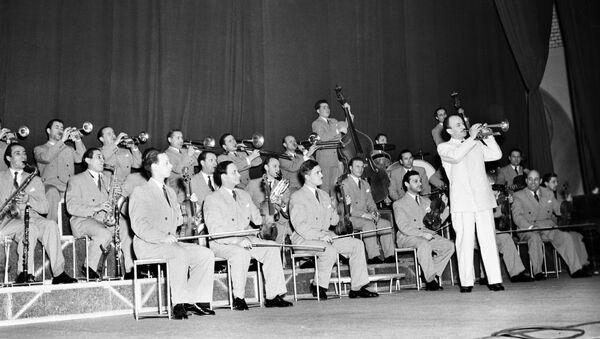 Джаз-аркестр пад кіраўніцтвам Эдзі Рознера, 1955 год - Sputnik Беларусь