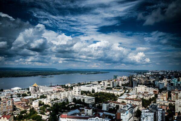 Улицы и здания Самары в окрестностях реки Волги - Sputnik Беларусь
