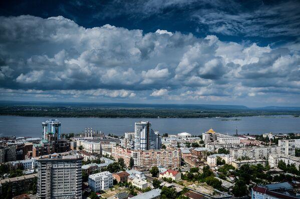 Улицы и здания Самары в окрестностях реки Волги. - Sputnik Беларусь