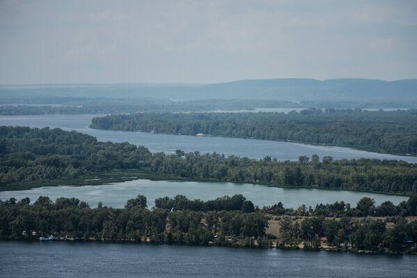 Река Волга в Самаре - Sputnik Беларусь