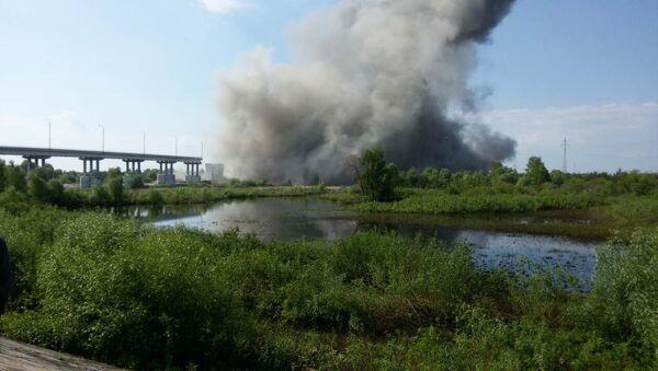 Взорванный мост в Житковичах - Sputnik Беларусь