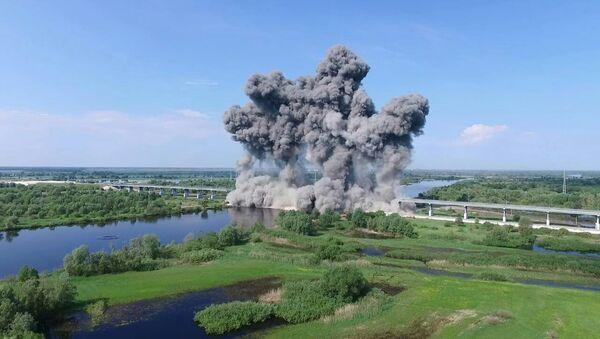 Взрыв моста в Житковичах - Sputnik Беларусь