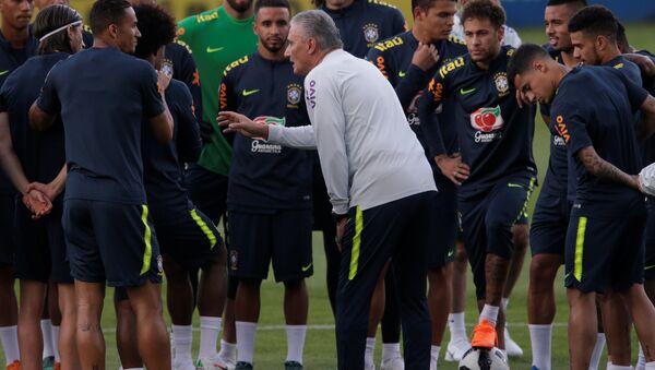 Тренировка сборной Бразилии по футболу - Sputnik Беларусь
