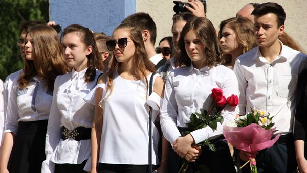 Последний звонок - волнительное событие не только для выпускников, но и для их близких - Sputnik Беларусь