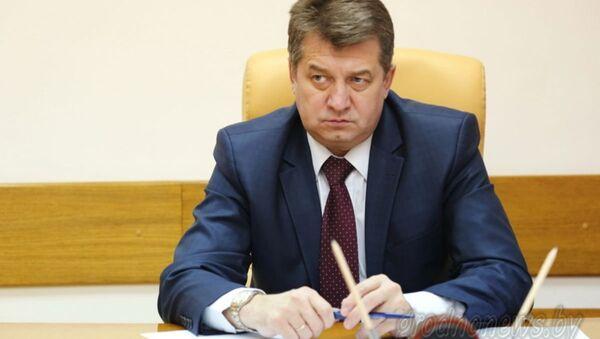 Задержанный за взятку помощник президента РБ Сергей Ровнейко - Sputnik Беларусь