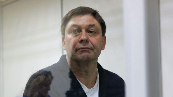 Галоўны рэдактар сайта РІА Новости Украина Кірыл Вышынскі - Sputnik Беларусь
