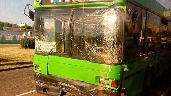 ДТП с городскими автобусами в Гомеле - Sputnik Беларусь