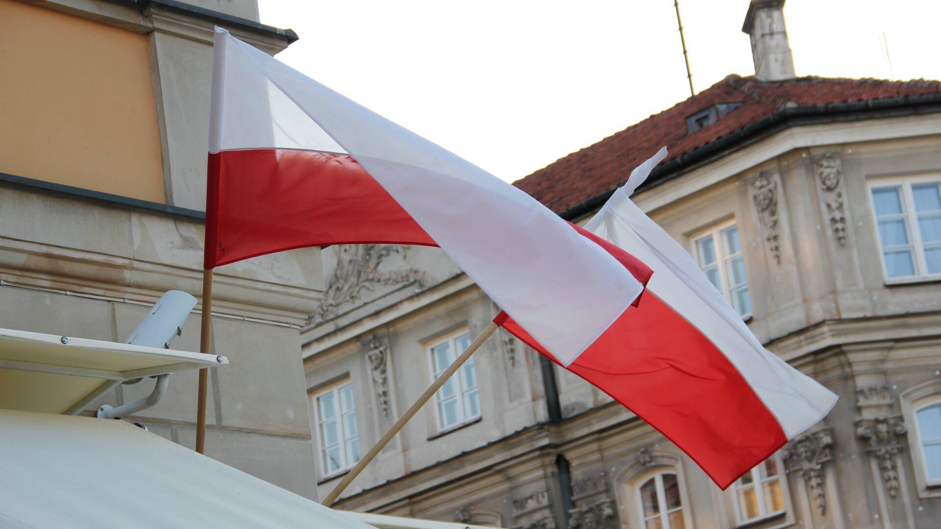 Флаги Польши - Sputnik Беларусь, 1920, 08.10.2021