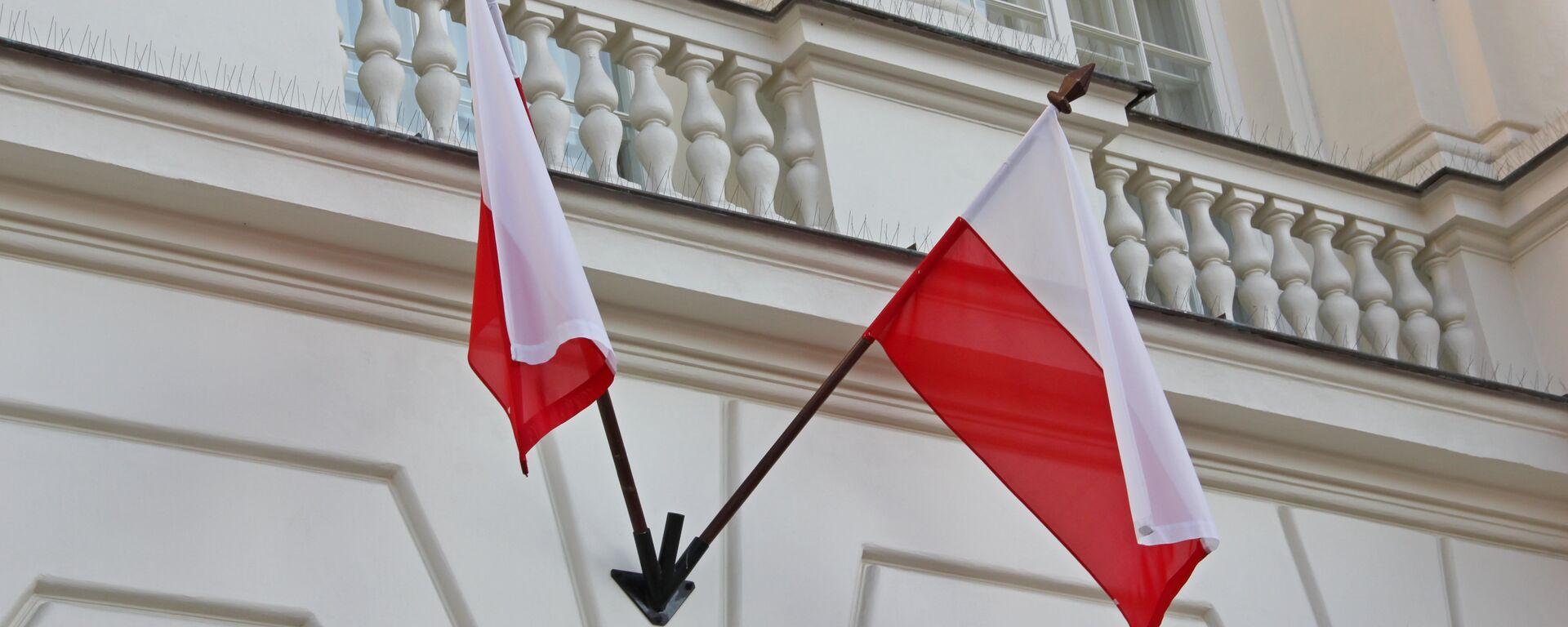 Флаги Польши - Sputnik Беларусь, 1920, 09.03.2021