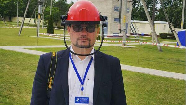 Начальник информационно-аналитического отдела ГПО Белэнерго Александр Мальков - Sputnik Беларусь