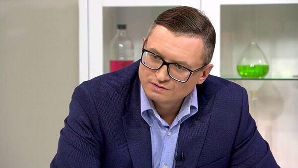 Клинический психолог, ведущий телеканала Доктор и руководитель центра СтопТабак Михаил Хорс - Sputnik Беларусь