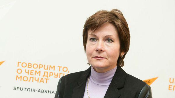 Главный санитарный врач Абхазии Людмила Скорик - Sputnik Беларусь