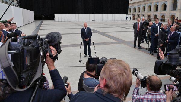Прамая лінія з Пуціным: стартаваў прыём пытанняў - Sputnik Беларусь