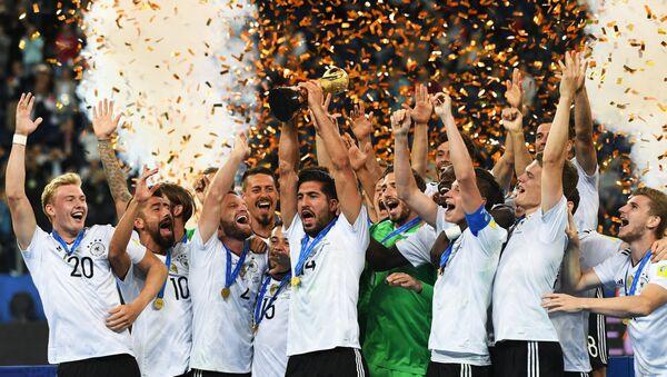 Игроки сборной Германии, архивное фото - Sputnik Беларусь