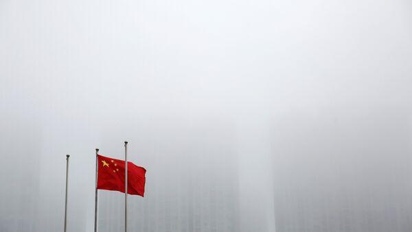 Флаг Китая в Циндао - Sputnik Беларусь