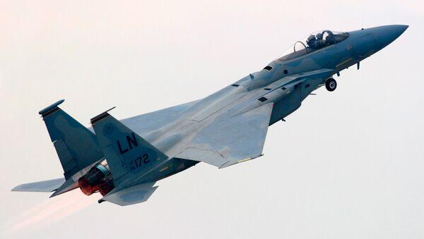 Американский истребитель F-15  - Sputnik Беларусь