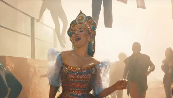 Наталия Орейро сняла клип на песню к ЧМ-2018 по футболу, видео - Sputnik Беларусь