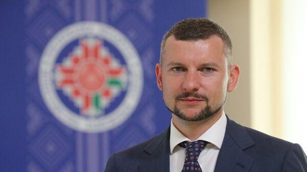 Начальник управления информации и цифровой дипломатии (пресс-секретарь) МИД Анатолий Глаз - Sputnik Беларусь
