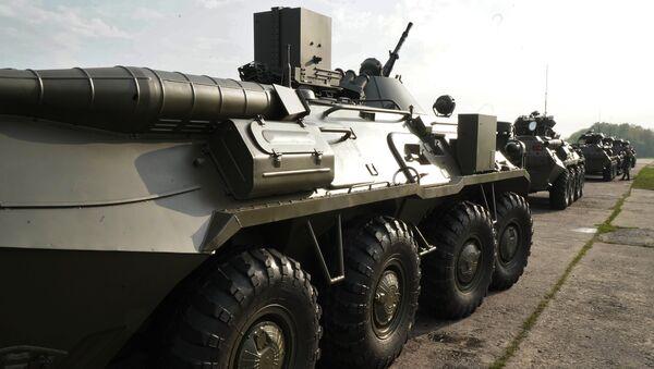 БТР 82-А - Sputnik Беларусь