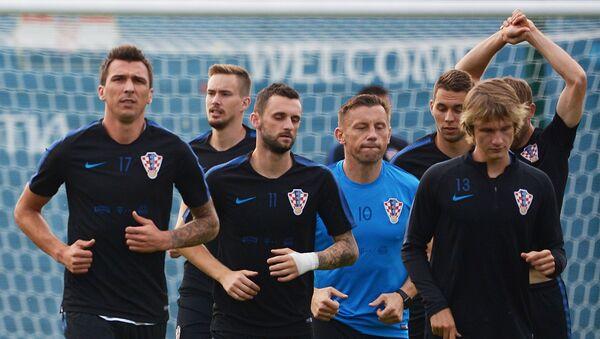 Игроки сборной Хорватии - Sputnik Беларусь
