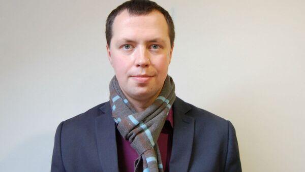 Пресс-секретарь Белорусской ассоциации журналистов Борис Горецкий - Sputnik Беларусь